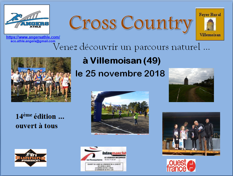 Cross de Villemoisan 2018 : photos