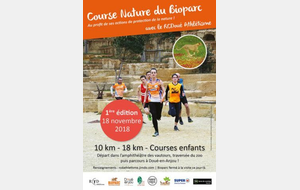 COURSE : Course nature du Bioparc